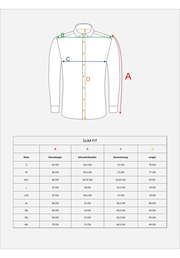 Overhemd Lange Mouw 65008 Beige