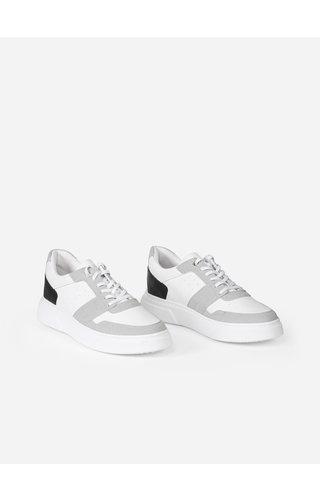 Wam Denim Shoe 447 White Grey