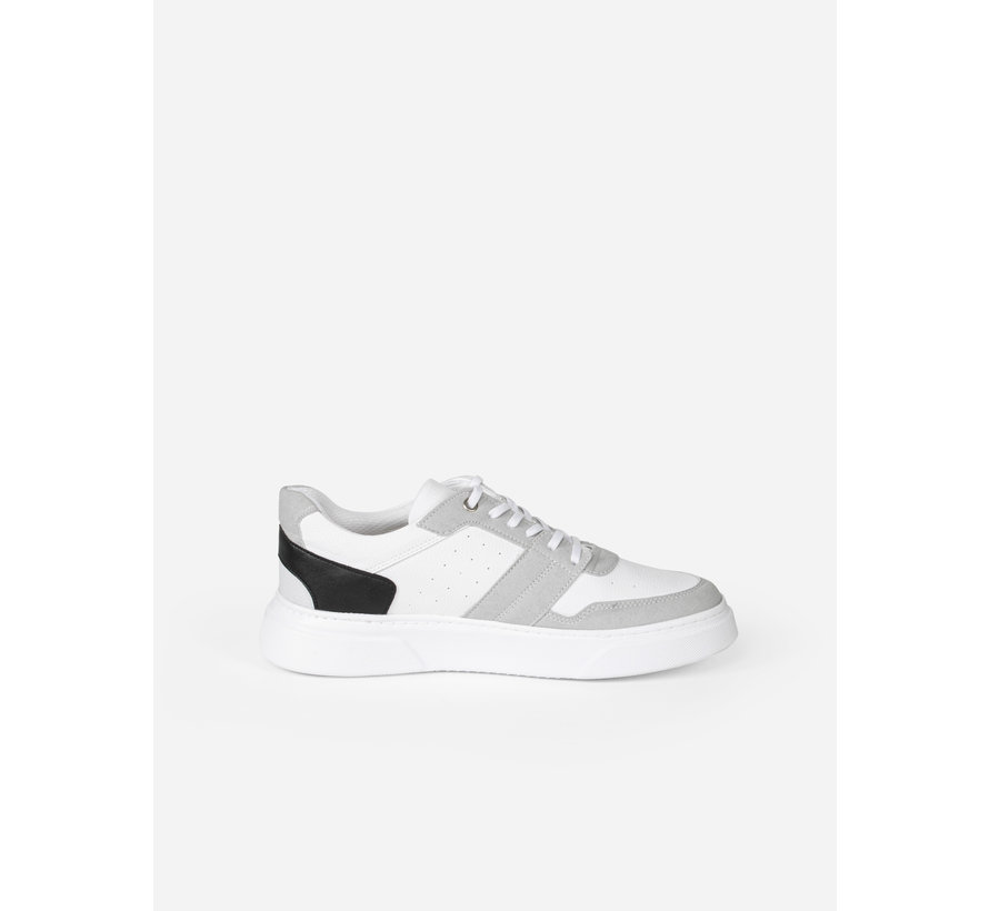 Schoen 447 White Grey