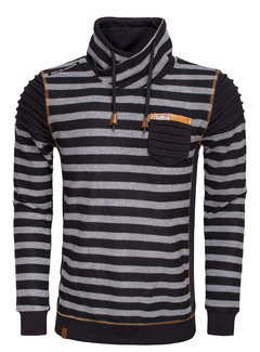 Wam Denim Sweater 76172 Black Grey