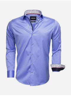 Wam Denim Overhemd Lange Mouw 75534 Blue