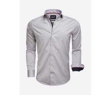Wam Denim Overhemd Lange Mouw 75534 Grey