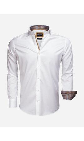 Wam Denim Overhemd Lange Mouw 75535 White