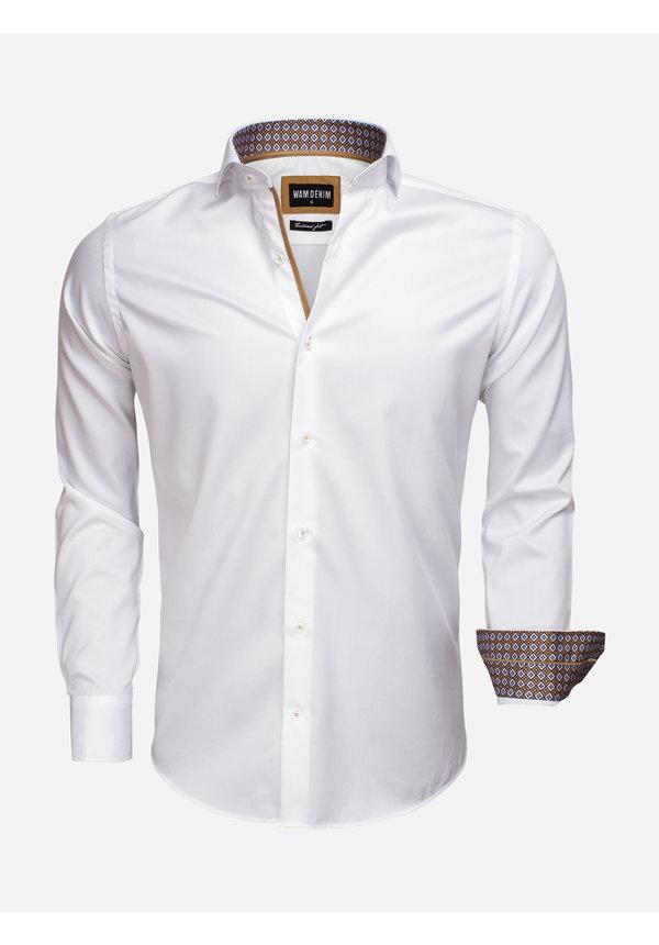 Overhemd Lange Mouw 75535 White