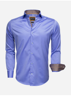 Wam Denim Overhemd Lange Mouw 75535 Blue