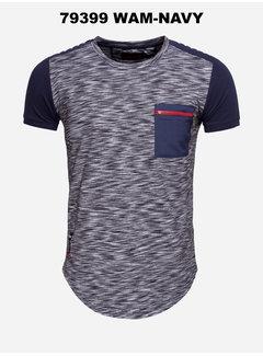 Wam Denim T-Shirt 79399 Navy