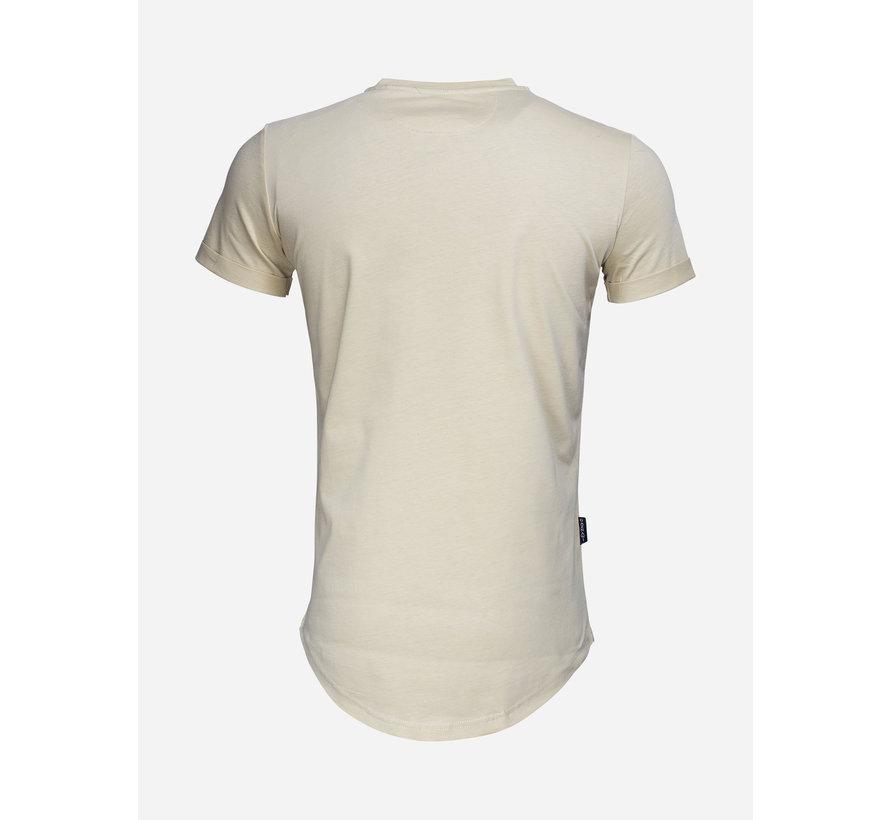 T-Shirt  69033 Camel