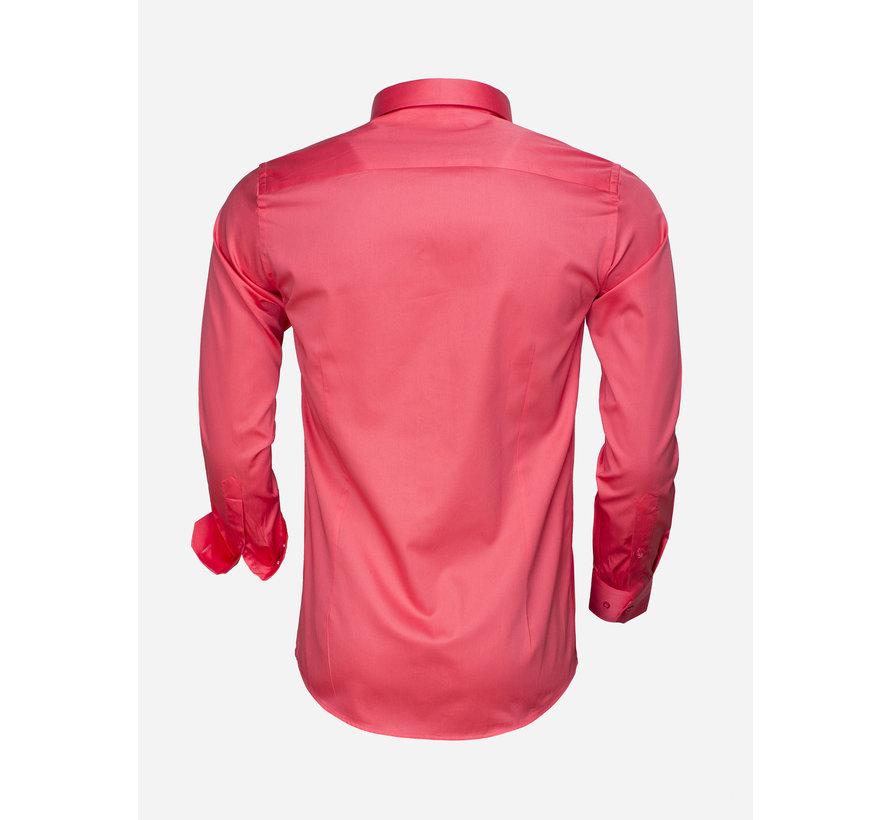 Shirt Long Sleeve 65008 Fuchsia