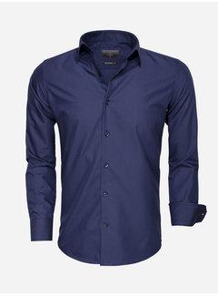 Gaznawi Shirt Long Sleeve 65008 Navy