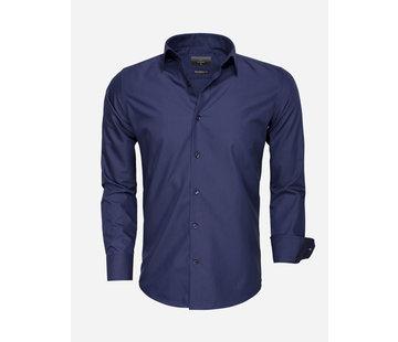 Gaznawi Overhemd Lange Mouw 65008 Navy