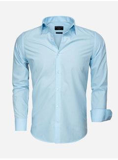Gaznawi Overhemd Lange Mouw 65008 Light Turquoise