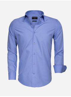 Gaznawi Overhemd Lange Mouw 65008 Dark Blue