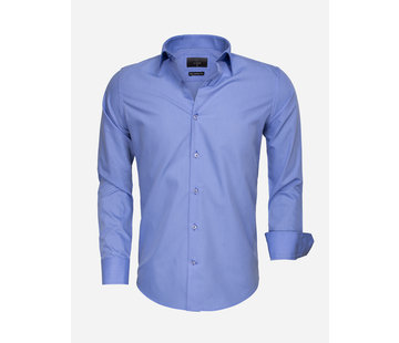 Gaznawi Shirt Long Sleeve 65008 Dark Blue