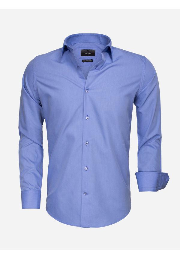Overhemd Lange Mouw 65008 Dark Blue