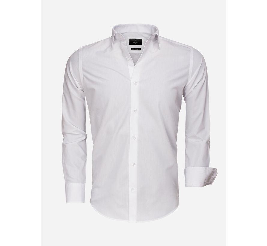 Overhemd Lange Mouw 65008 White
