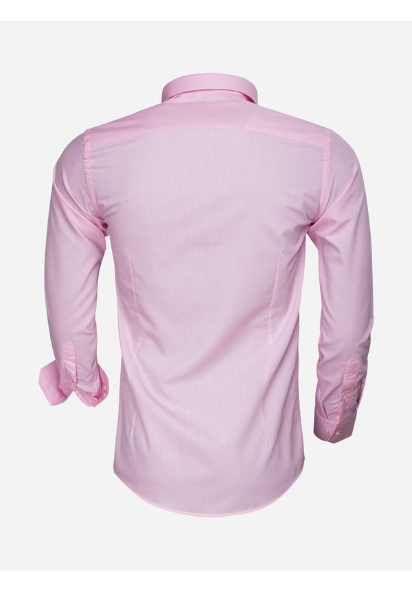 Overhemd Lange Mouw 65008 Pink