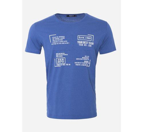 Wam Denim T-Shirt 155 Blauw