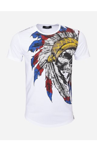 George V T-Shirt GV518 White