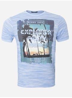 Wam Denim T-Shirt 163 Blauw