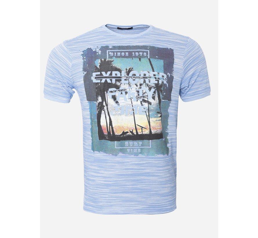 T-Shirt 163 Blauw