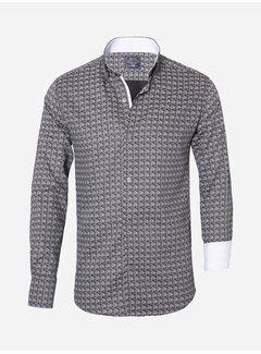 Arya Boy Overhemd Lange Mouw 85270 Grey