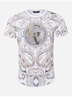 George V T-Shirt GV533 White