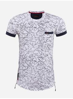 Wam Denim T-Shirt 79432 Wit