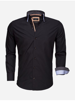 Gaznawi Overhemd Lange Mouw 65009 Black