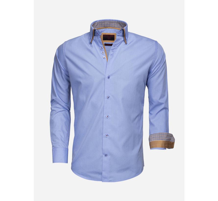 Overhemd Lange Mouw 65010 Light Blue