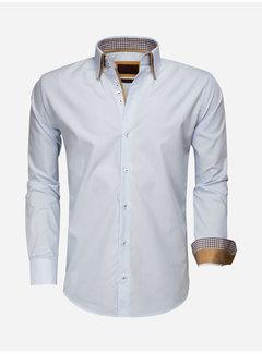 Gaznawi Overhemd Lange Mouw 65010 Blue