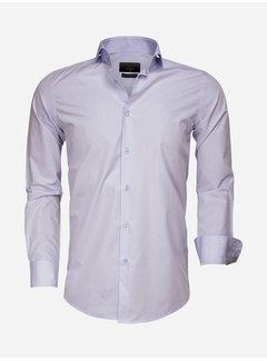 Gaznawi Overhemd Lange Mouw 65007 Bolzano Blue