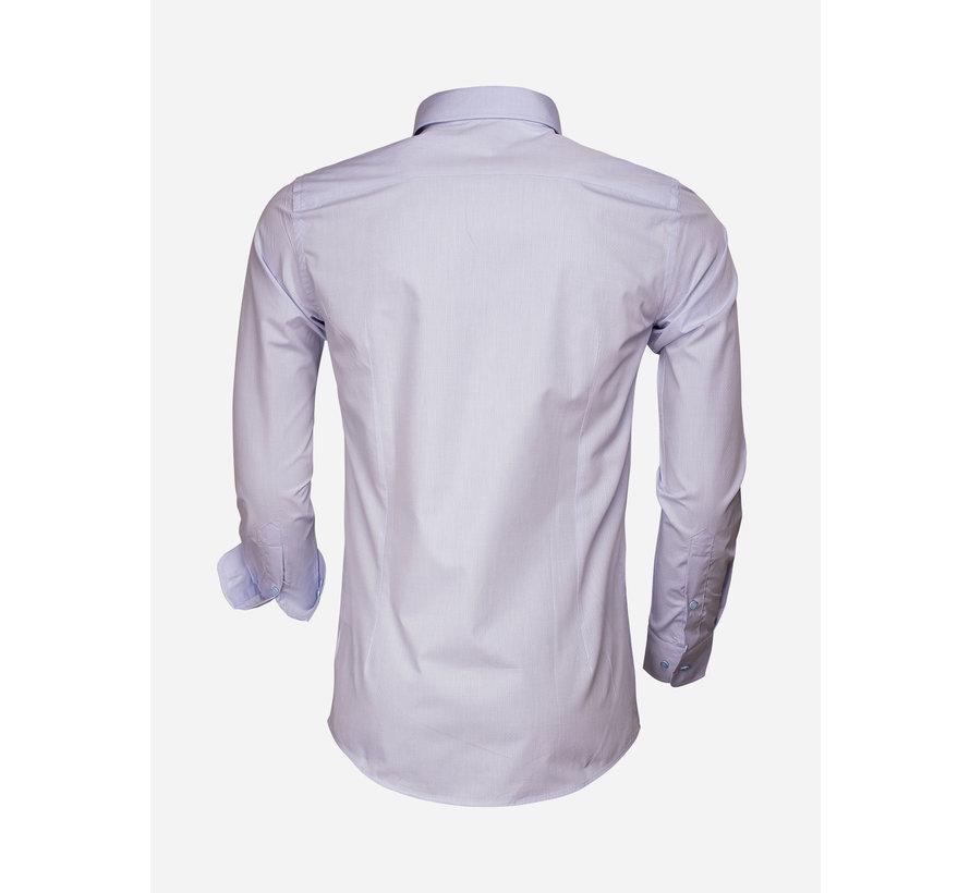 Shirt Long Sleeve 65007 Bolzano Blue