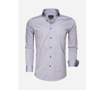 Gaznawi Overhemd Lange Mouw 65007 Bolzano Dark Blue