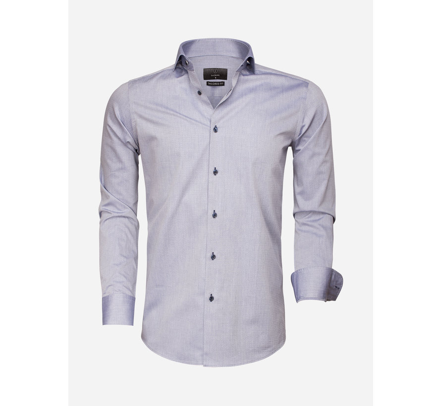 Overhemd Lange Mouw 65007 Bolzano Dark Blue