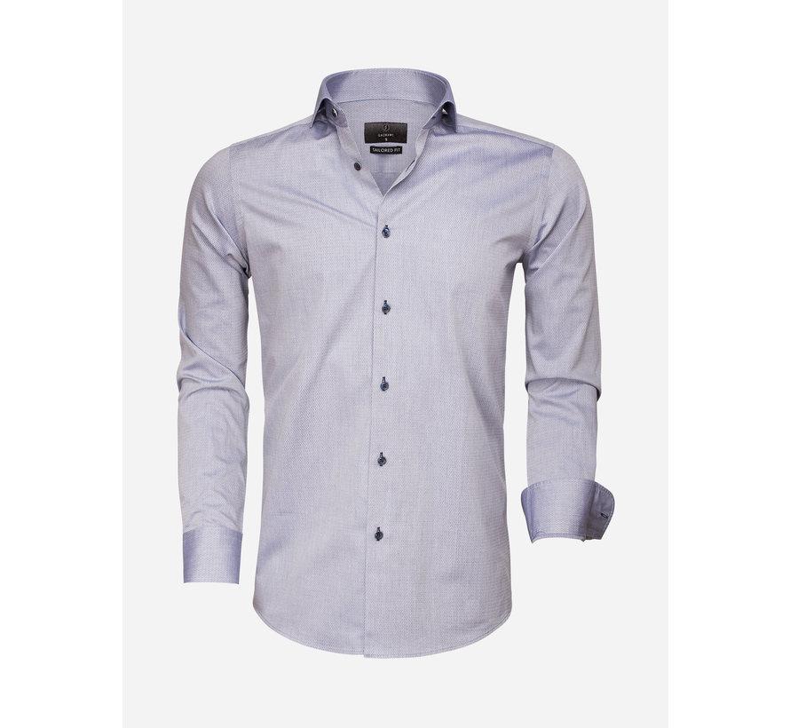Shirt Long Sleeve 65007 Bolzano Dark Blue