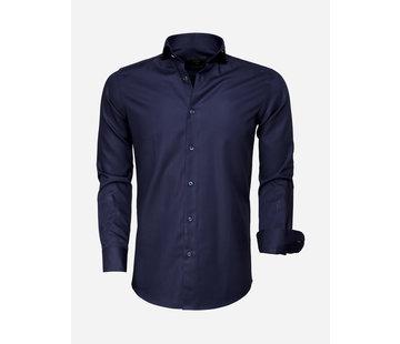 Gaznawi Shirt Long Sleeve 65007 Bolzano Dark Navy