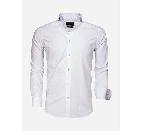 Gaznawi Overhemd Lange Mouw 65007 Bolzano Ice Blue