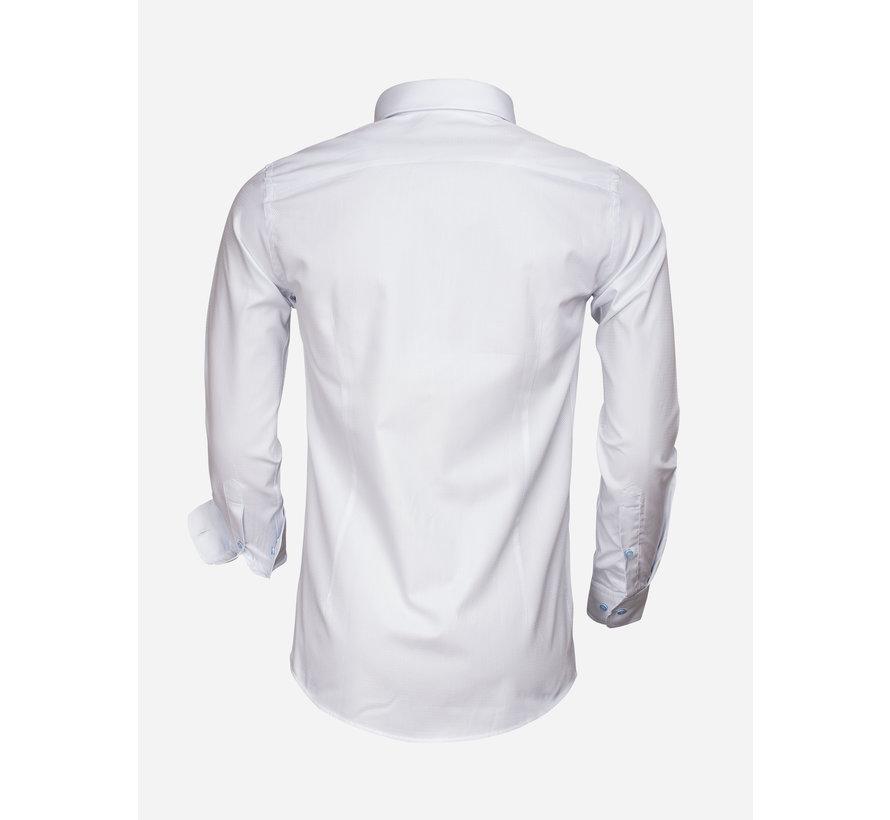 Overhemd Lange Mouw 65007 Bolzano Ice Blue
