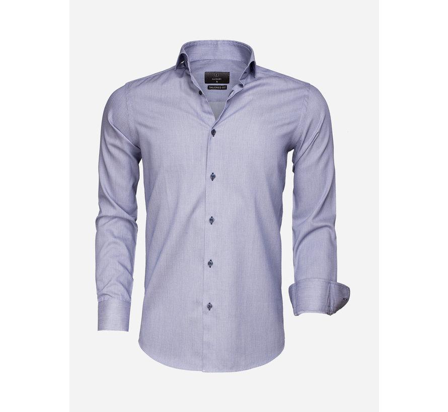 Overhemd Lange Mouw 65007 Bolzano Navy White