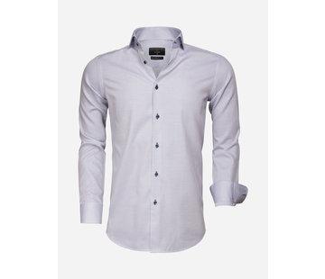 Gaznawi Shirt Long Sleeve 65007 Bolzano Royal Blue White
