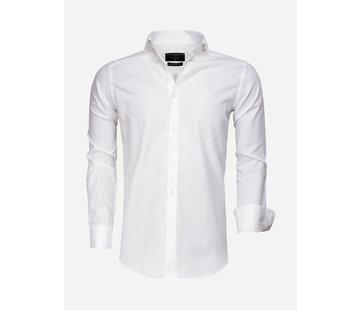 Gaznawi Overhemd Lange Mouw 65007 Bolzano White
