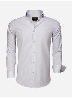 Gaznawi Overhemd Lange Mouw 65007 Bolzano Blue White
