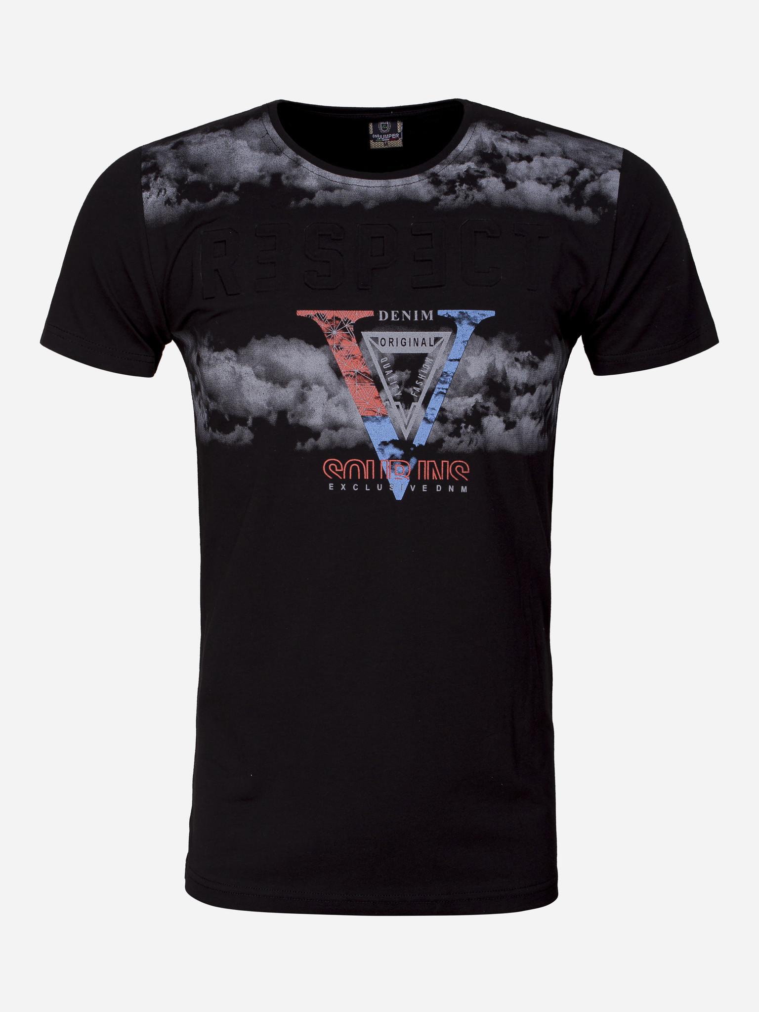 One Jumper T-Shirt 2212 Black Maat: L