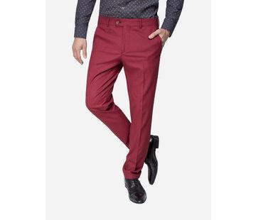 Wam Denim Pantalon 72118 Biella Dark Red
