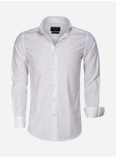 Gaznawi Overhemd Lange Mouw 65007 Bolzano Light Off White