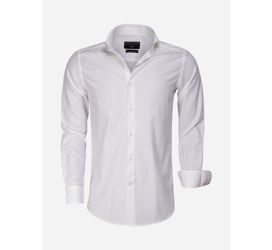 Overhemd Lange Mouw 65007 Bolzano Light Off White