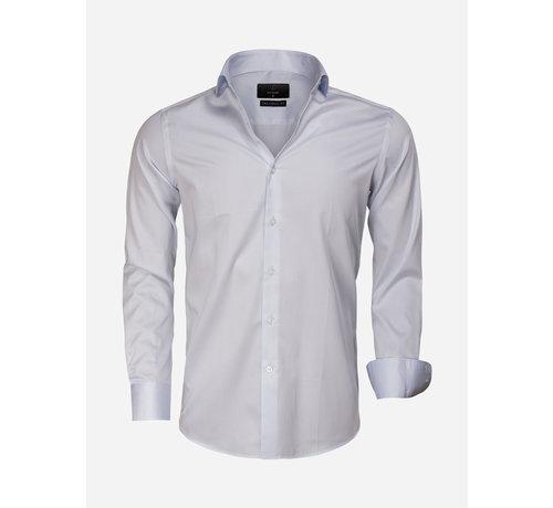 Gaznawi Overhemd Lange Mouw 65011 Carrara Light Blue