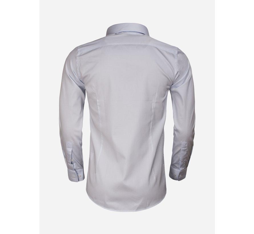 Overhemd Lange Mouw 65011 Carrara Light Blue