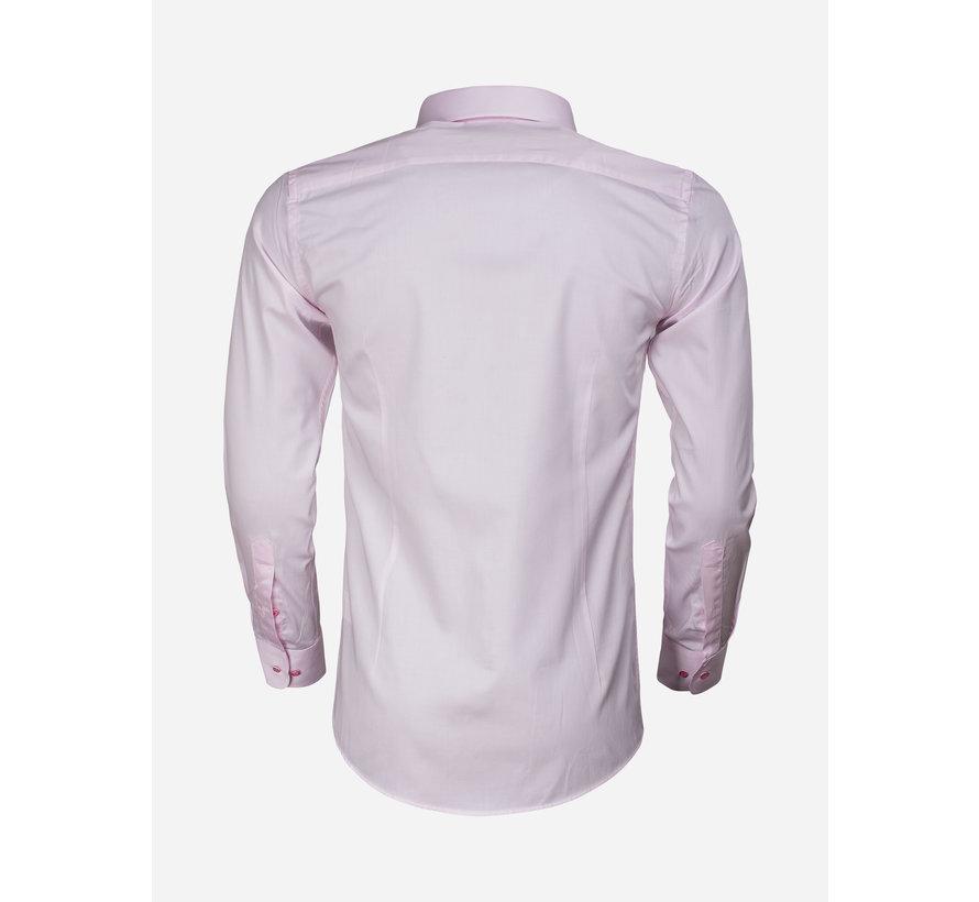 Overhemd Lange Mouw 65011 Carrara Pink