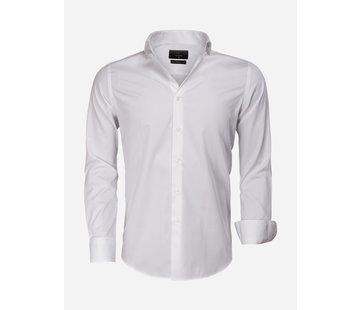 Gaznawi Overhemd Lange Mouw 65011 Carrara White